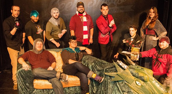 The Chicago Comedy Nerd Festival makes geeky jokes all weekend at Stage 773. - COURTESY STAGE 773