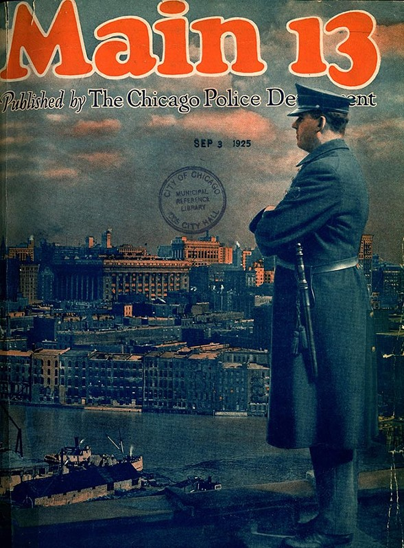The official glossy lifestyle magazine of the Chicago Police Department was published between 1921 and '23.