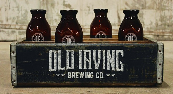 COURTESY OLD IRVING BREWING CO.