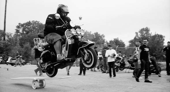 Scooter lovers unite this weekend during Slaughterhouse. - BRYAN BEDELL