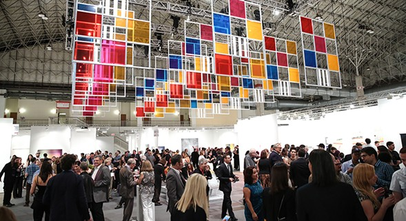 Expo Chicago kicks off on Thu 9/22 at Navy Pier. - KELLY TAUB/BFA.COM