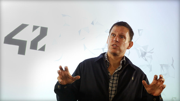 """Tech billionaire Peter Thiel recently told a Chicago audience: """"If you are a very talented person, you have a choice: You either go to New York or you go to Silicon Valley."""" - REUTERS"""