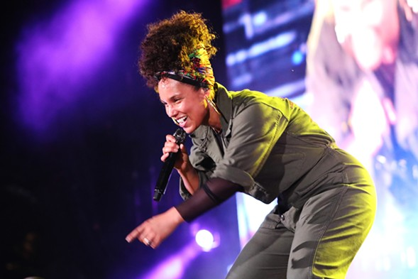 Alicia Keys - MORGAN ELISE JOHNSON