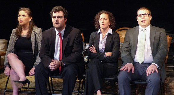 Genesis Theatricals' The People's Choice, at Redtwist - RONN SPARKES