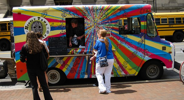 Fifteen food trucks line up on Humboldt Boulevard this weekend. - SAMEOLD2010/FLICKR