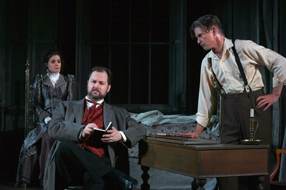 Dr. Steward's Dracula, at First Folio Theatre - DAVID RICE