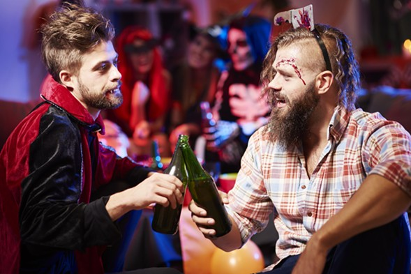 Spooky patrons take over Emporium Arcade Bar's Haunted Hotel this week. - GETTY IMAGES/ISTOCKPHOTO