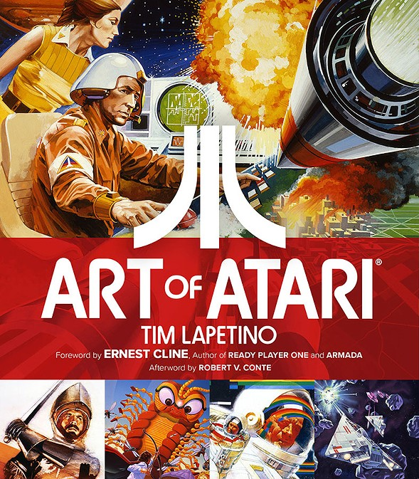 Tim Lapetino celebrates the launch of his book Art of Atari at Logan Arcade on Thu 10/27.