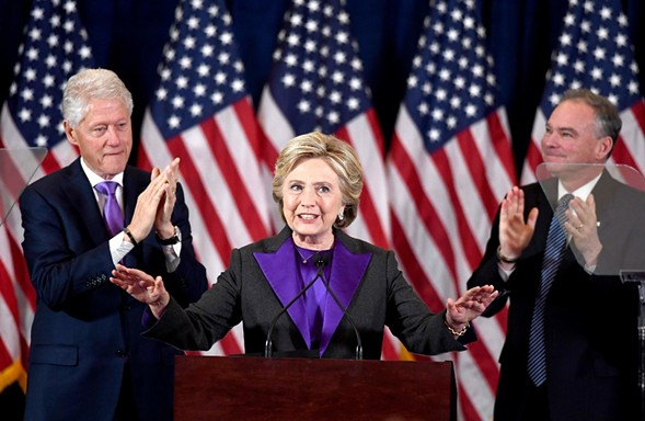 """Hillary Clinton: """"There is more work to do."""" - JEWEL SAMAD"""