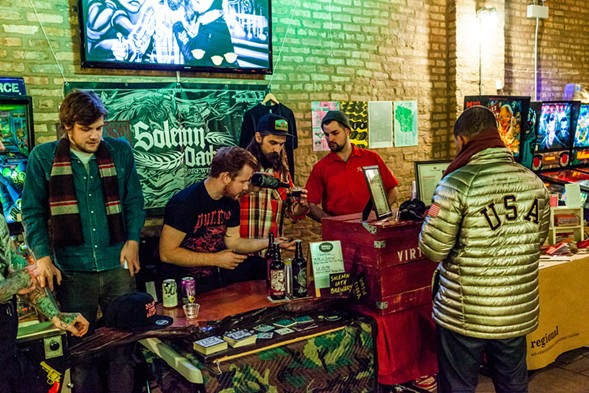 The Sauced Market celebrates its second anniversary on Tue 11/15. - NICK MURWAY 2014
