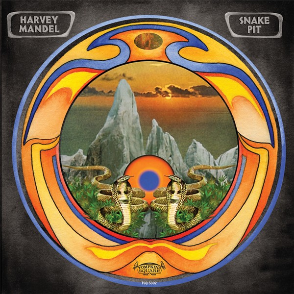 Snake Pit is Harvey Mandel's first widely distributed record in two decades. - COURTESY TOMPKINS SQUARE