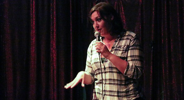 Women tell their disgusting stories on Mon 11/21 at Cafe Mustache. - COURTESY LADYLIKE