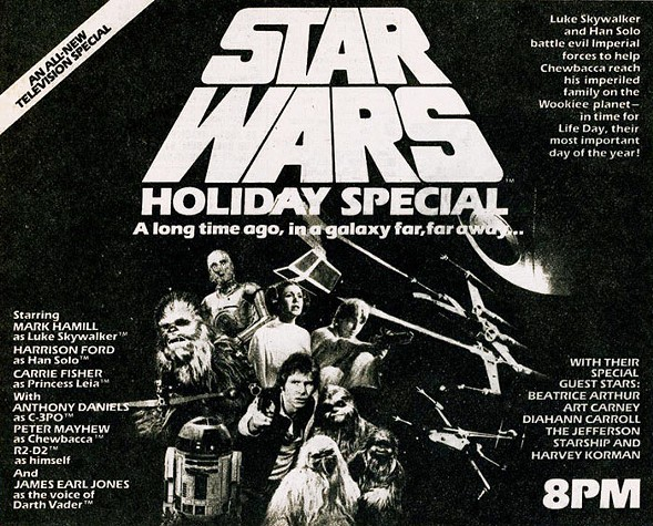 Delilah's resurrects the galactic holiday classic on Christmas Day.