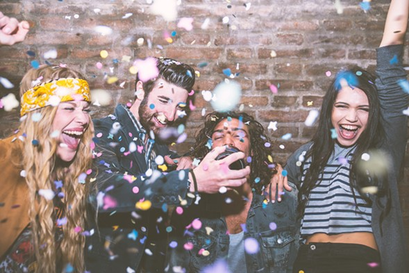 Ring in the New Year with dinner, performances, and drinks at Under the Gun Theater. - THINKSTOCK