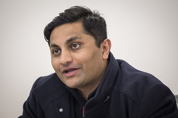Alderman Ameya Pawar in 2016 - RICH HEIN/SUN-TIMES