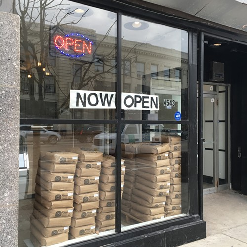 Unnamed injera bakery in Uptown - MIKE SULA