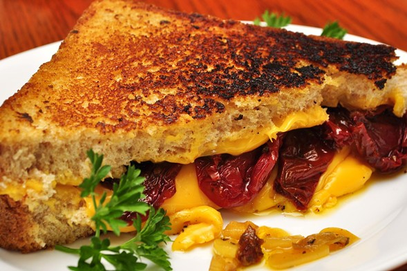 Lactose intolerants beware: the Grilled Cheese Meltdown is Sun 1/15. - JEFFREYW/FLICKR