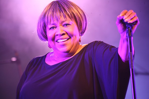 Mavis Staples at the Austin City Limits Music Festival in 2011 - LAURA FEDELE