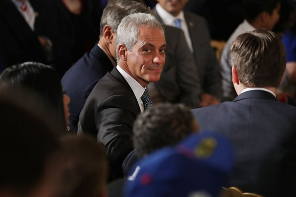 Mayor Rahm Emanuel - CHIP SOMODEVILLA/GETTY IMAGES