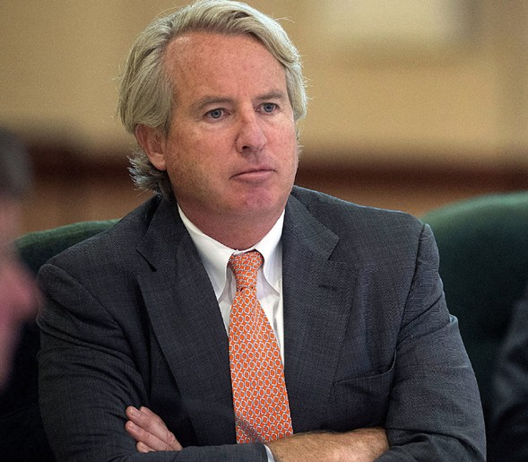 Chris Kennedy, pictured in 2014 - RICK DANZL/THE NEWS-GAZETTE VIA AP, FILE