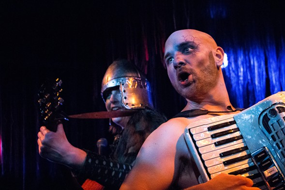 Red Theater's Beowulf: An Epic Quest of Music, Monsters, and Mead - M. FREER PHOTOS