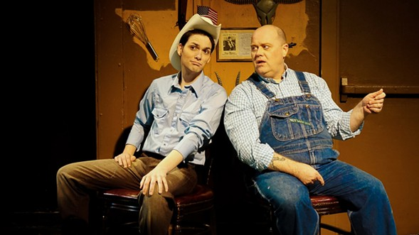 New American Folk Theatre's Deep in the Heart of Tuna - THEODORE A. THOMAS