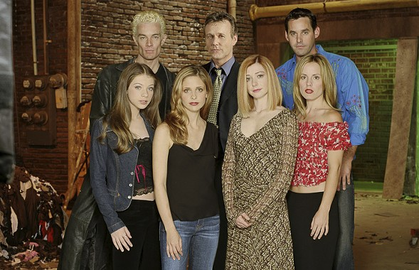 Twenty years ago Buffy and the gang first opened the Hellmouth. - UPN