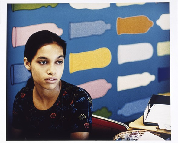 """Larry Clark, Untitled (Kids), 1995, on display as part of """"Eternal Youth"""" at the MCA - MICHAL RAZ-RUSSO/MCA"""