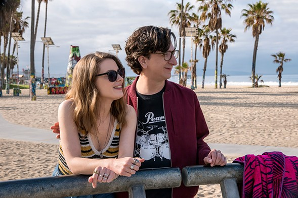 Love's Mickey (Gillian Jacobs) and Gus (Paul Rust) were doomed from the start. - SUZANNE HANOVER/NETFFLIX