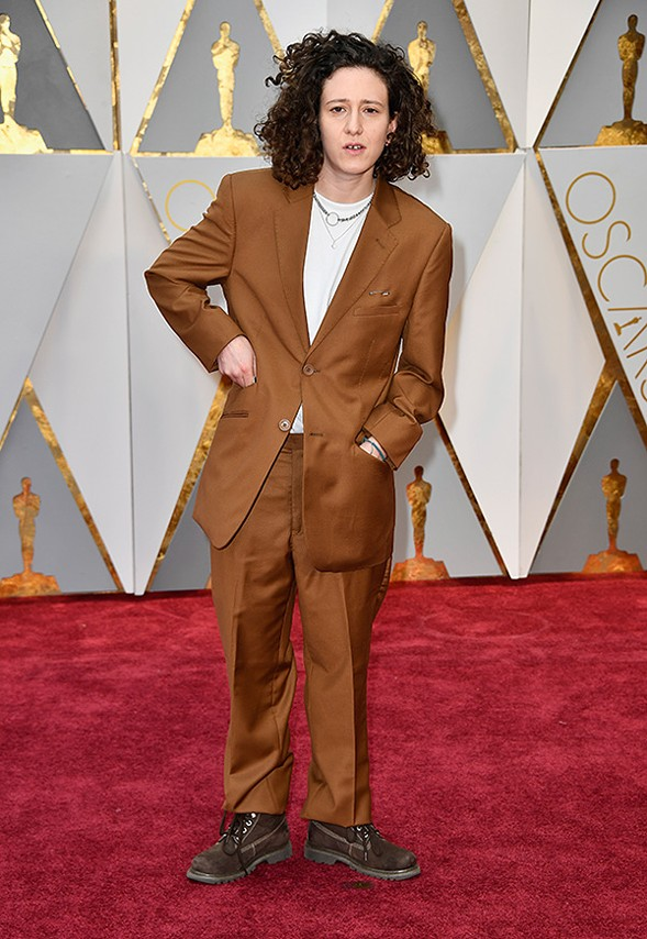 Mica Levi at the Oscars in February 2017 - FRAZER HARRISON/GETTY