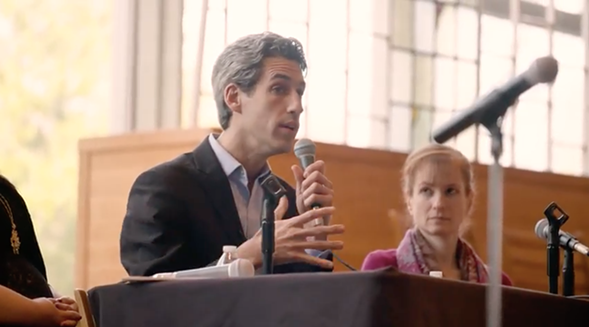 Daniel Biss, a state senator and former University of Chicago mathematician, announced his run for governor Monday. - BISS FOR ILLINOIS