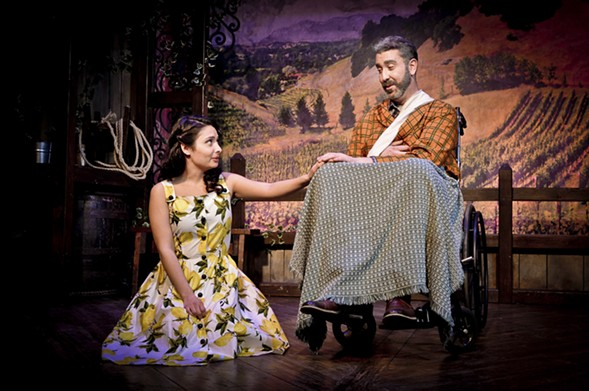 Molly Hernandez and William Roberts in Theo Ubique's The Most Happy Fella - ADAM VENESS
