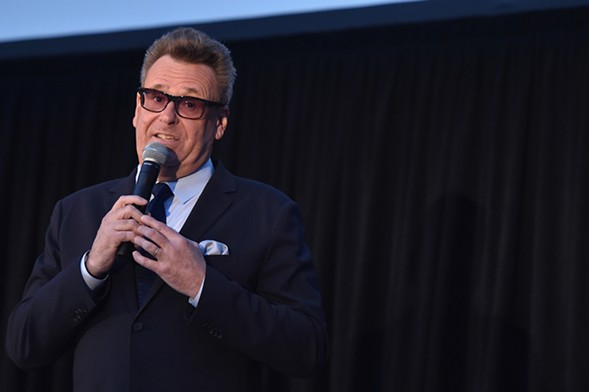 Greg Proops records a live episode of his podcast at Lincoln Hall. - GETTY IMAGES