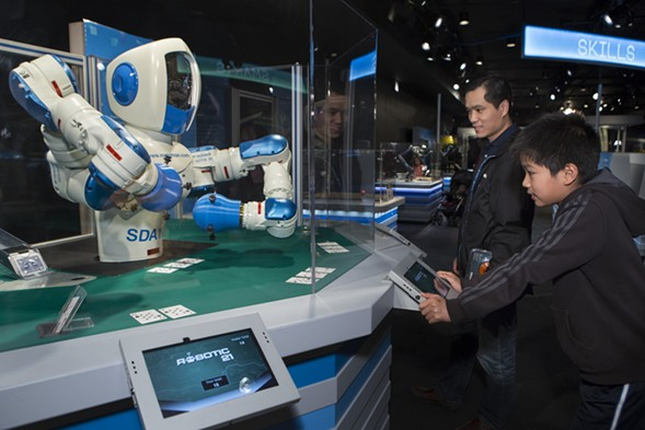 National Robotics Week kicks off at the Museum of Science and Industry on Sat 4/8. - J.B. SPECTOR/MUSEUM OF SCIENCE AND INDUSTRY CHICAGO