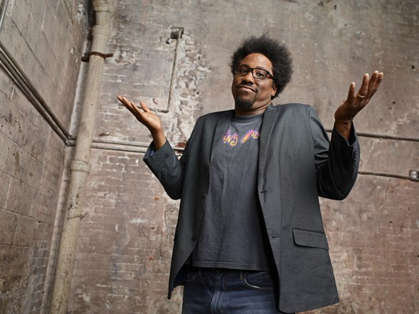 W. Kamau Bell joins the Pop Culture Happy Hour crew during their midwest debut on Wed 4/12. - SUN-TIMES MEDIA