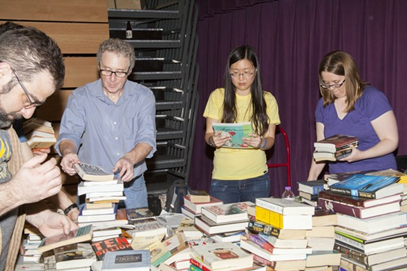 Stock up on new reads at the Chicago Reader Book Swap. - PARKER BRIGHT