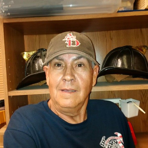 Garcia sporting his Albuquerque Dukes hat - COURTESY PABLO GARCIA