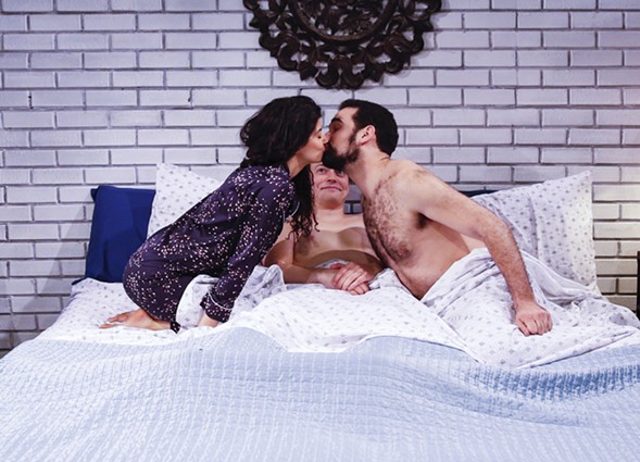 The Other Theatre Company's Threesome - CARIN SILKAITIS