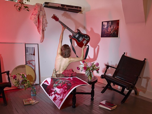 Photographic Composition with Mia's Guitar, 2016 - MARZENA ABRAHAMIK