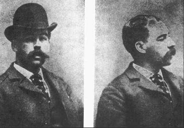Dr. Henry Howard Holmes pictured in an undated photo - AP PHOTO/THE TORTURE DOCTOR