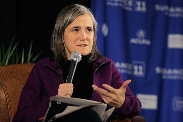 Amy Goodman discusses her experiences as a journalist at Women & Children First on Sat 5/6. - GETTY IMAGES