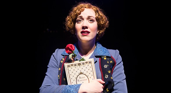 Elizabeth Telford in Marriott Theatre's She Loves Me Not - JUSTIN BARBIN