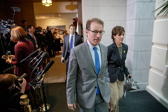 Illinois U.S. rep Peter Roskam voted to repeal Obamacare in last week's congressional vote. - J. SCOTT APPLEWHITE / AP IMAGES