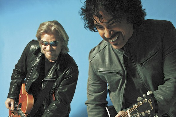 Hall & Oates plays with Tears for Fears at Allstate Arean on Mon 5/15. - SUN TIMES PRINT COLLECTION