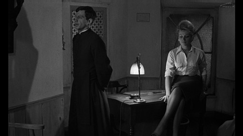 Léon Morin, Priest screens in the Melville series on June 10 and June 15.