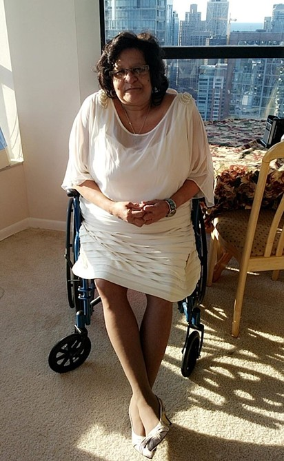 Rachael Tovar's Harbor Drive apartment is her first truly accessible home. - COURTESY OF RACHAEL TOVAR