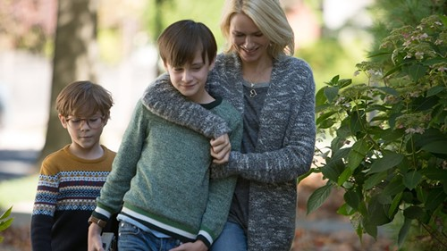 Naomi Watts (right) in The Book of Henry