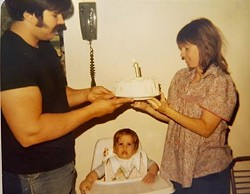 My first birthday in 1978
