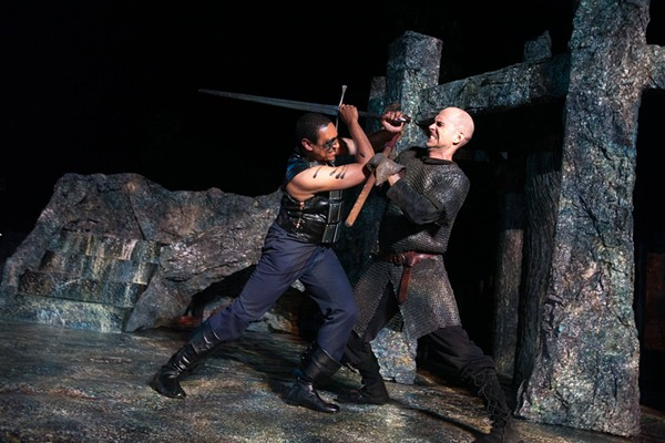 Oak Park Festival Theatre's Macbeth - JOHNNY KNIGHT