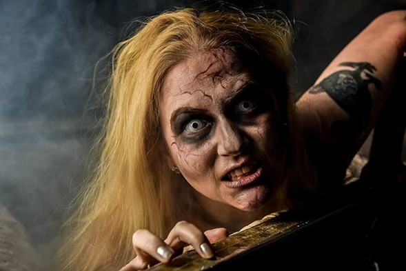 Join the search for braaaaaaaaains at the Chicago Zombie March on Saturday 6/24. - VIA CHICAGO ZOMBIE MARCH FACEBOOK PAGE